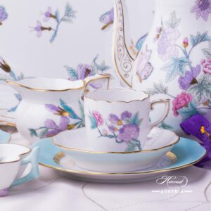 EVICT2 Herend Porcelain Coffee set for two persons