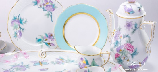 Royal Garden-EVICT2 Coffee Set - Herend porcelain