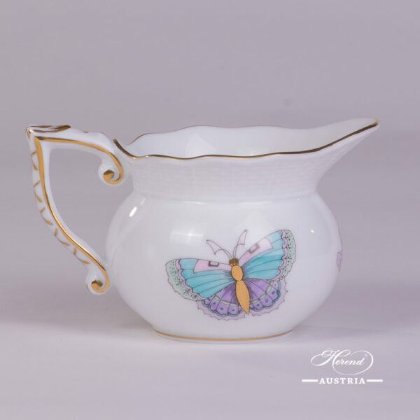 Royal Garden-Turquoise 644-0-00 EVICTP2 Creamer Herend porcelain