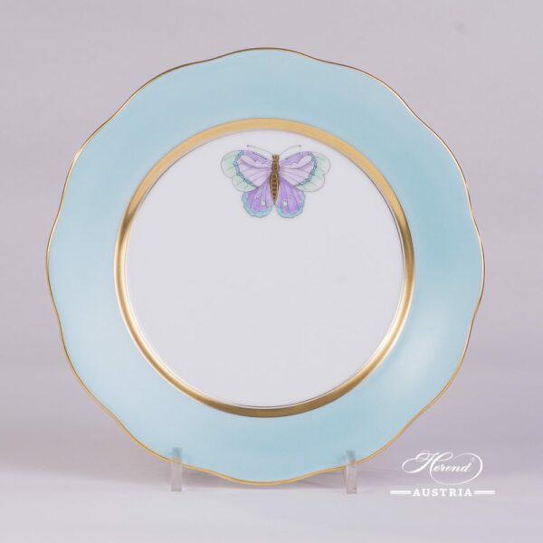 Royal Garden-Turquoise 20517-0-00 XCTQ1 Dessert Plate Herend porcelain