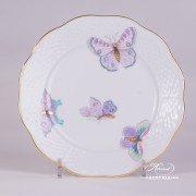 Royal Garden-Turquoise 517-0-00 EVICTP2 Dessert Plate Herend porcelain