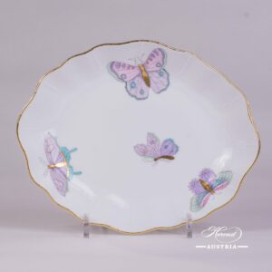 Royal Garden-Turquoise 212-0-00 EVICTP2 Oval Dish Herend porcelain