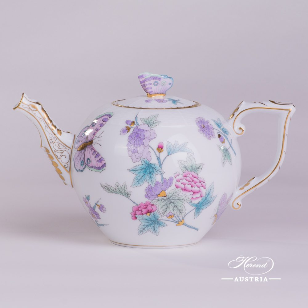 Royal Garden Turquoise - Tea Pot