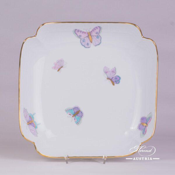 Royal Garden-Turquoise 181-0-00 EVICTP2 Salad Dish Herend porcelain