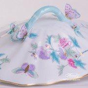 Royal Garden-Turquoise 51-0-17 EVICT2 Vegetable Dish Herend porcelain