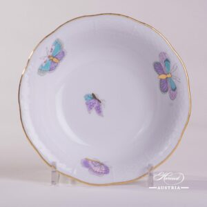 Royal Garden-Turquoise 330-0-00 EVICTP2 Fruit Bowl Herend porcelain