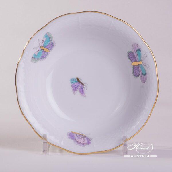 Royal Garden-Turquoise 330-0-00 EVICTP2 Fruit Bowl Herend porcelain