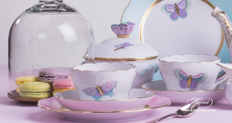Royal Garden-EVICT2 Tea Set - Herend porcelain