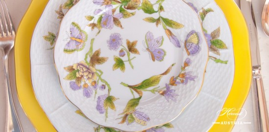 Dinner Set - Herend Royal Garden Green design