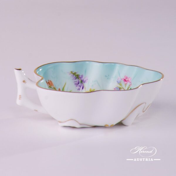 Sugar Bowl 2492-0-00 QS Four Seasons pattern. Herend fine china. Hand painted tableware