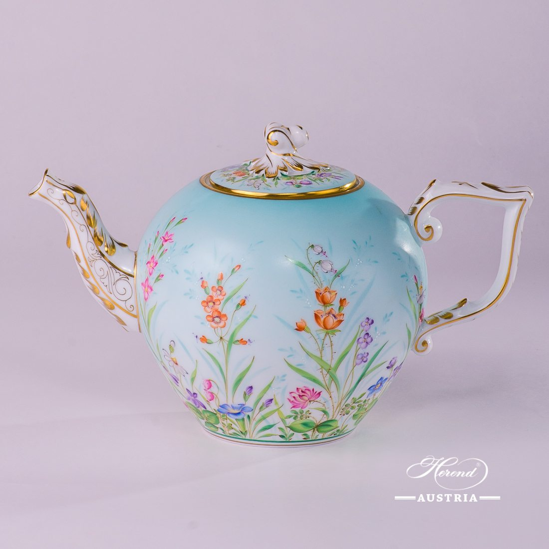 Four Seasons Tea Pot - 20605-0-06 QS - Herend Porcelain