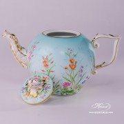 Four Seasons 20605-0-06 QS Tea Pot Herend porcelain