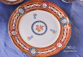 Silk Brocade-EGAVT Dessert Plate - Herend Porcelain