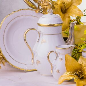 Hadik HD Coffee Set for two persons Herend porcelain