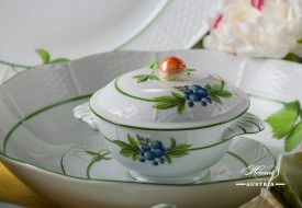 Herend fine china Dinner Set Fruits-BAC also known as Bacci Fere motif