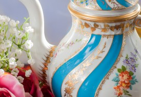 Colette Tea Pot - Herend Porcelain