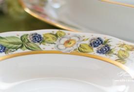 Festival of Fruits-FEST Dinner Plate - Herend Porcelain