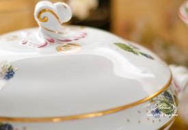 Festival of Fruits-FEST Vegetable Dish - Herend Porcelain