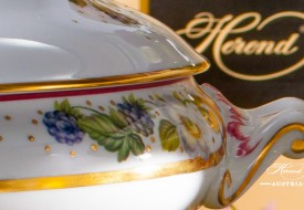 Vegetable Dish - Herend Porcelain, fine china with Festival of Fruits-FEST also known as Festival des Fruites motif