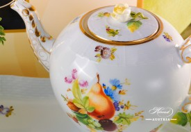 Herend porcelain Tea Pot with Fruits - CFR decor