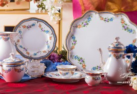 Pearls-GPN Coffee Set - Herend Porcelain