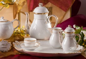 Hadik-HD Coffee Set - Herend Porcelain