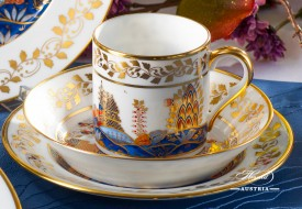 Miramare-MR Coffee Cup - Herend Porcelain