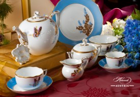 Butterfly and Bamboo-PABA Tea Set - Herend Porcelain