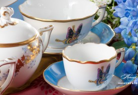 Butterfly and Bamboo-PABA - Herend Porcelain