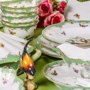 Couple of Birds RO-ETV Dinner Set Herend porcelain