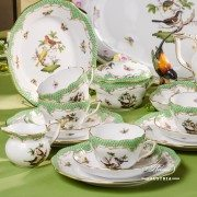 Couple of Birds RO-ETV Tea Set Herend porcelain