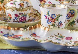 VICTORIA Soup Cup and Milk Mug - Herend Porcelain