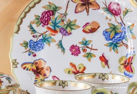 VICTORIA Dinner Plate - Herend Porcelain