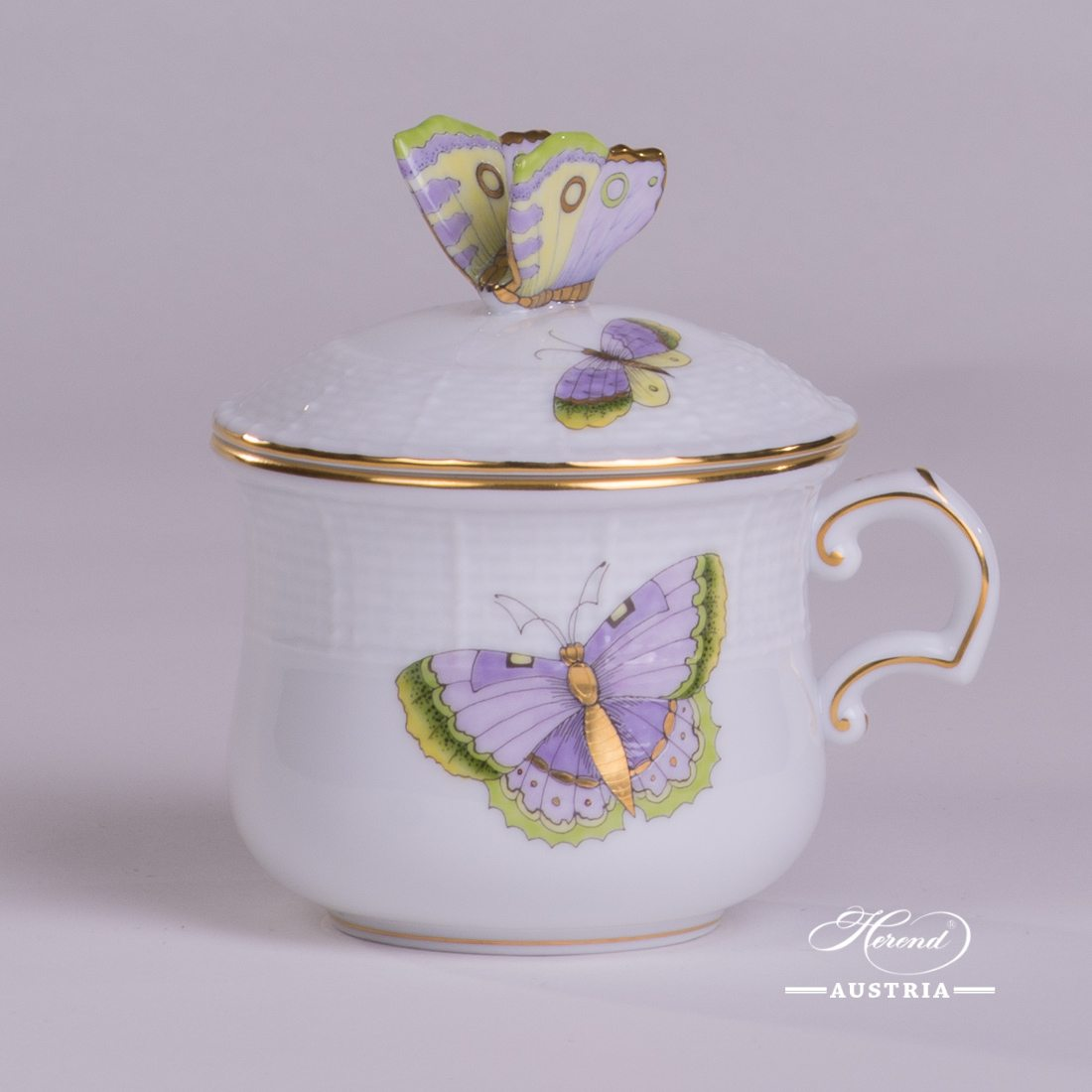 Royal Garden Green - Cream Cup