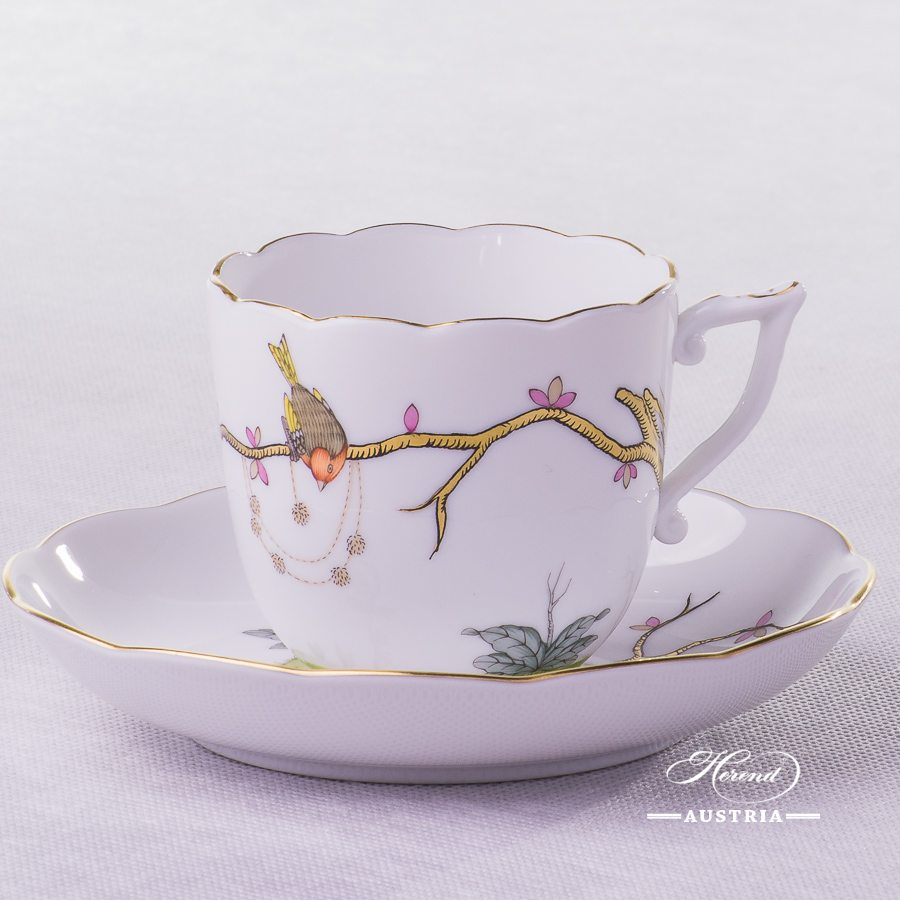 Dream Garden-REJA Coffee Cup and Saucer - 20706-0-00 REJA - Herend Porcelain