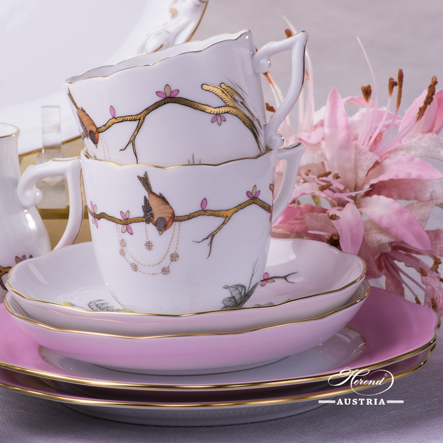 Dream Garden REJA Coffee Set for 2 Persons Herend porcelain