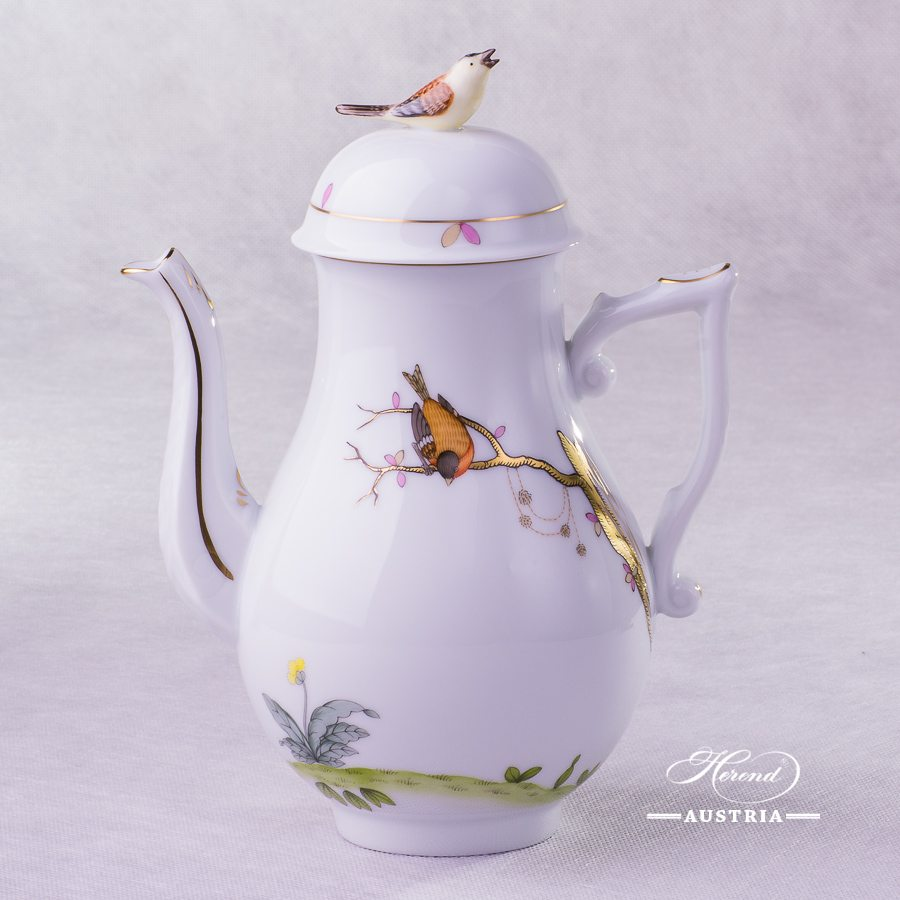 Dream Garden-REJA Coffee Pot - 20613-0-05 REJA - Herend Porcelain