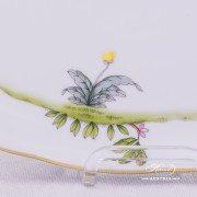 Dream Garden Cake Plate 20412-0-00 REJA Herend porcelain