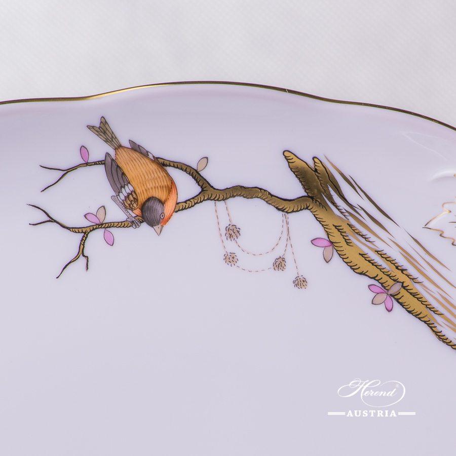 Dream Garden-REJA Oval Platter with Handle - 20412-0-00 REJA - Herend Porcelain