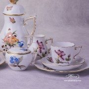 Victoria Grande VICTMC Coffee Set for two persons Herend porcelain