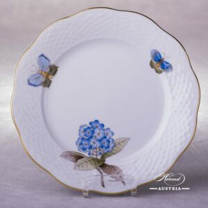 Victoria Grande Dessert Plate 517-0-00 VICTMC-Blue Herend porcelain