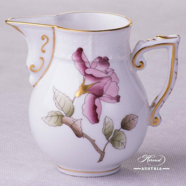 Victoria Grande Milk Jug 657-0-00 VICTMC-Pink Herend porcelain