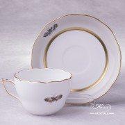 Victoria Grande Tea Cup with Saucer 20730-0-00 VICTMC Herend porcelain