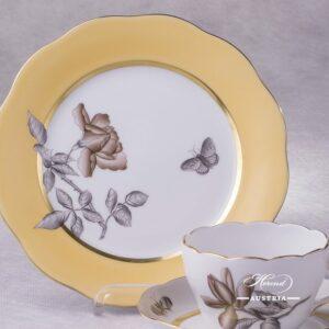 Victoria Grande - VICTMC Tea Cup with Dessert Plate - Herend Porcelain