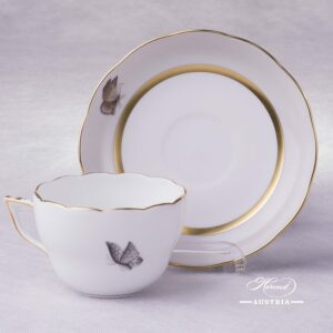 Victoria Grande Tea Cup with Saucer 20730-0-00 VICTMC Herend porcelain