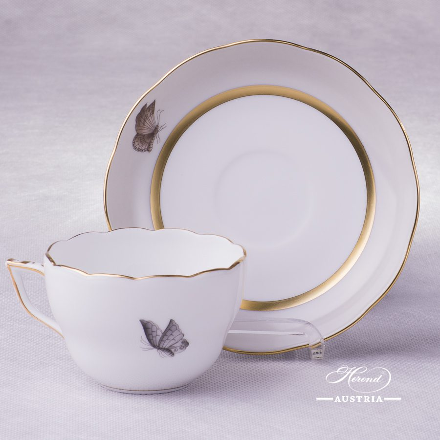 Victoria Grande Tea Cup and Saucer - 20730-0-00 VICTMC1-3 - Herend Porcelain
