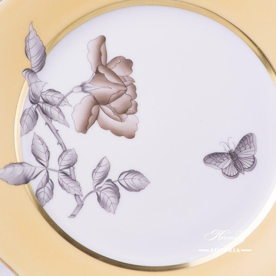 Victoria Grande Dessert Plate - 20517-0-00 VTCMC6 - Herend Porcelain