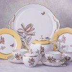 Victoria Grande VICTMC Tea Set for two persons Herend porcelain
