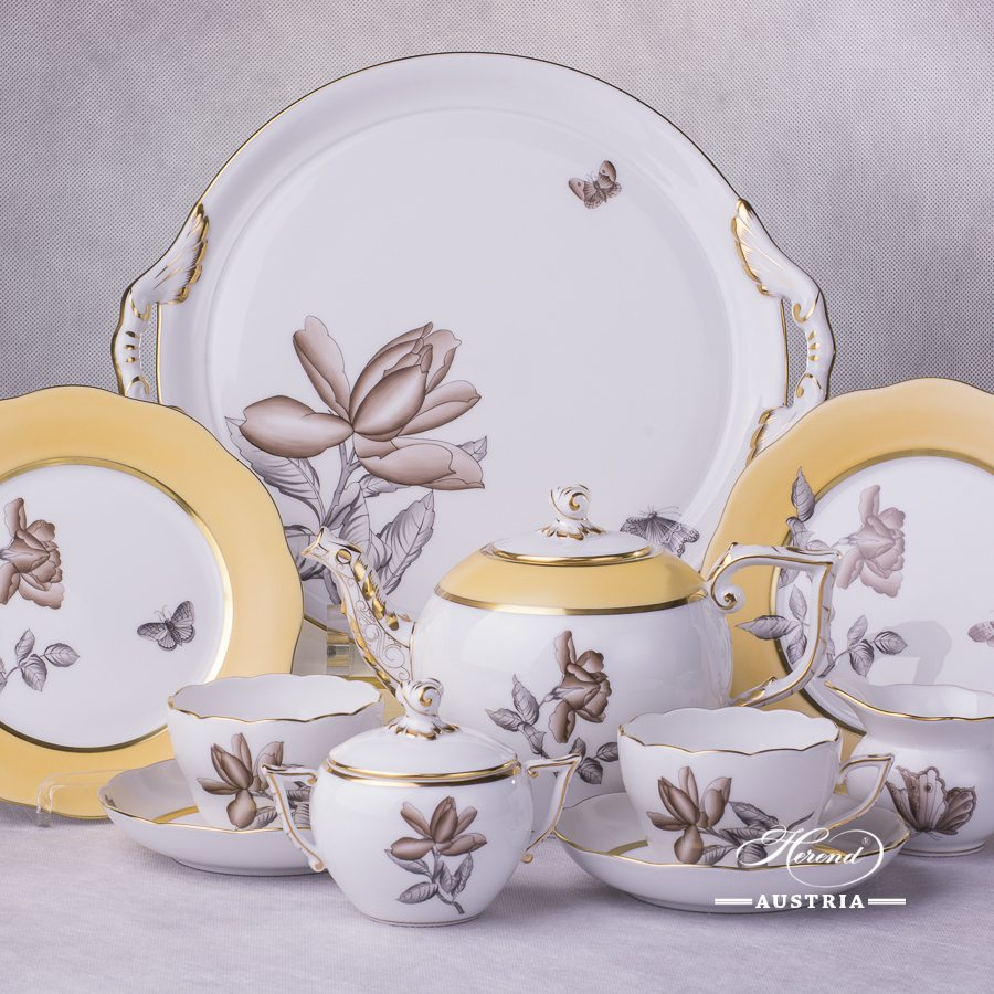 Victoria Grande - VICTMC Tea-Set for 2 Persons - Herend Porcelain