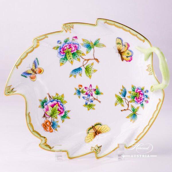 Victoria 200-0-00 VBO Leaf Dish Herend porcelain